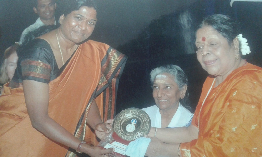 Meenakshi Vijayakumar presented by S.Janaki
