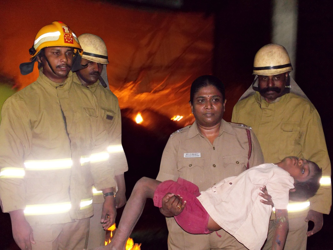 Meenakshi Vijayakumar in Action Fire Rescue