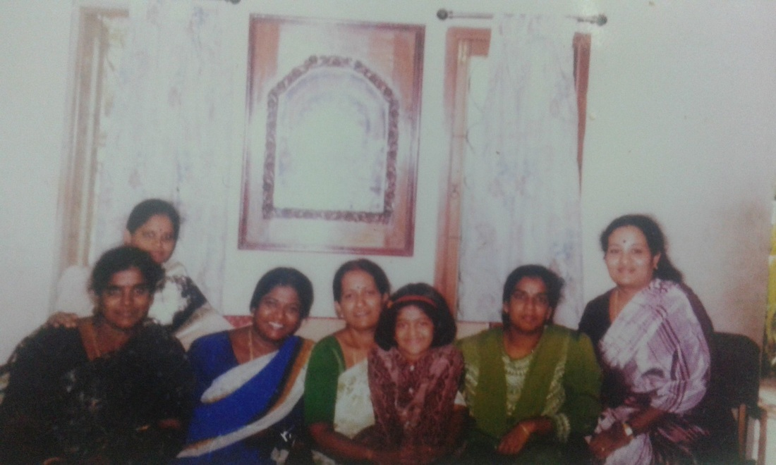 Meenakshi Vijayakumar Family Photo